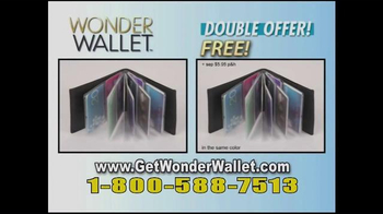 Wonder Wallet TV Spot, 'Crowding Your Purse' - Thumbnail 8