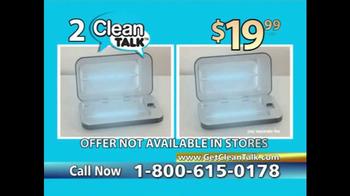 Clean Talk TV Spot, 'Sanitizes & Charges' - Thumbnail 7