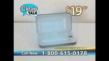 Clean Talk TV Spot, 'Sanitizes & Charges' - Thumbnail 6