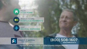 Finance of America Reverse TV Spot, 'Stop Making Monthly Mortgage Payments' - Thumbnail 5