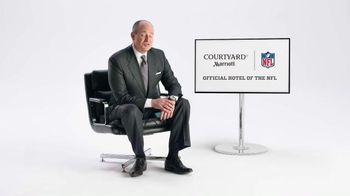 Marriott TV Spot, 'Rich Eisen Brings Reality to Video Game Football' - 287 commercial airings