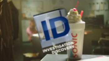 Sonic Drive-In Creamery Shake TV Spot,'Investigation Discovery: Most Wanted' - Thumbnail 7