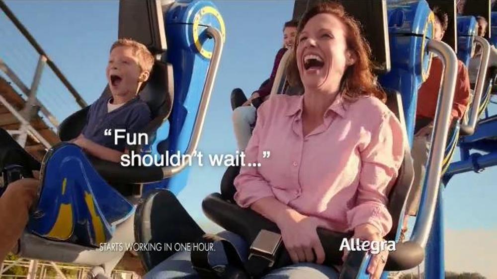 Allegra Allergy Gelcaps TV Commercial, 'Roller Coaster'