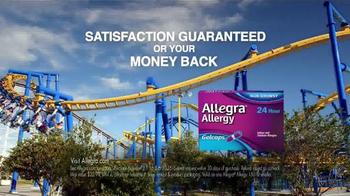 Allegra Allergy Gelcaps TV Spot, 'Roller Coaster' - Thumbnail 7