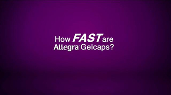 Allegra Allergy Gelcaps TV Spot, 'Roller Coaster' - Thumbnail 1
