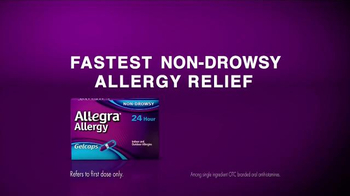 Allegra Allergy Gelcaps TV Spot, 'Roller Coaster' - Thumbnail 4