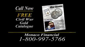 Monaco Financial TV Spot, 'Historic Civil War Coins' - Thumbnail 10