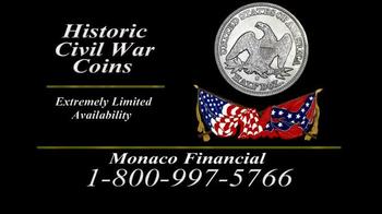 Monaco Financial TV Spot, 'Historic Civil War Coins' - Thumbnail 4