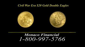 Monaco Financial TV Spot, 'Historic Civil War Coins' - Thumbnail 5