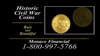 Monaco Financial TV Spot, 'Historic Civil War Coins' - Thumbnail 6