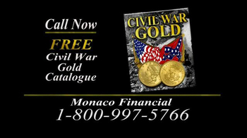 Monaco Financial TV Spot, 'Historic Civil War Coins' - Thumbnail 7