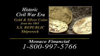 Monaco Financial TV Spot, 'Historic Civil War Coins' - Thumbnail 8