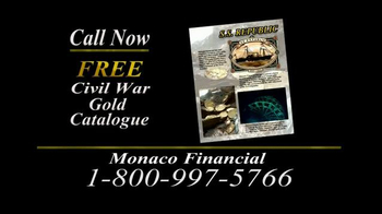 Monaco Financial TV Spot, 'Historic Civil War Coins' - Thumbnail 9
