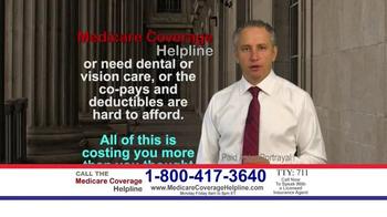 Medicare Health Reform Hotline TV Spot, 'All You Deserve' - Thumbnail 1