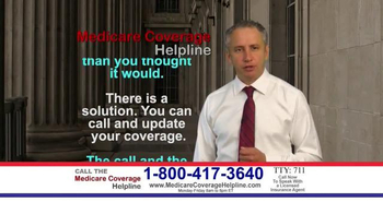 Medicare Health Reform Hotline TV Spot, 'All You Deserve'