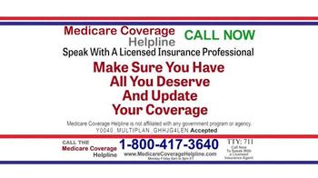 Medicare Health Reform Hotline TV Spot, 'All You Deserve' - Thumbnail 6