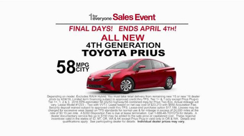 Toyota 1 for Everyone Sales Event TV Spot, 'Final Days: Posse' - Thumbnail 8