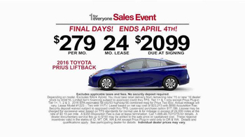 Toyota 1 for Everyone Sales Event TV Spot, 'Final Days: Posse' - Thumbnail 9