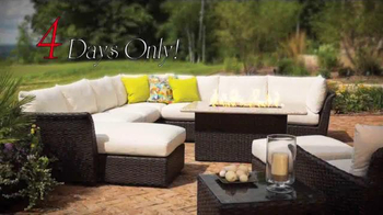 Rich's Furniture Half-off Sale TV Spot, 'Furniture and Fire Pits' - Thumbnail 1