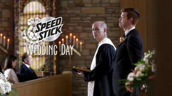 Speed Stick TV Spot, 'Wedding' Featuring John C. McGinley