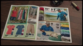 Bass Pro Shops TV Spot, 'Men's Under Armour, Fish Fryer and Merrell Hikers' - Thumbnail 1