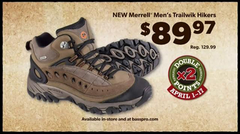 Bass Pro Shops TV Spot, 'Men's Under Armour, Fish Fryer and Merrell Hikers' - Thumbnail 8