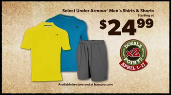 Bass Pro Shops TV Spot, 'Men's Under Armour, Fish Fryer and Merrell Hikers' - Thumbnail 3
