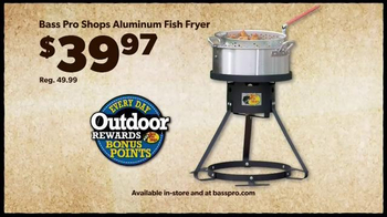 Bass Pro Shops TV Spot, 'Men's Under Armour, Fish Fryer and Merrell Hikers' - Thumbnail 6