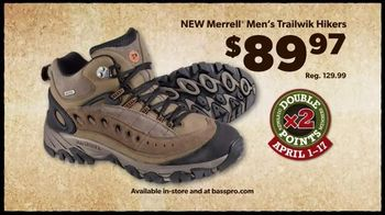 Bass Pro Shops TV Spot, 'Men's Under Armour, Fish Fryer and Merrell Hikers'