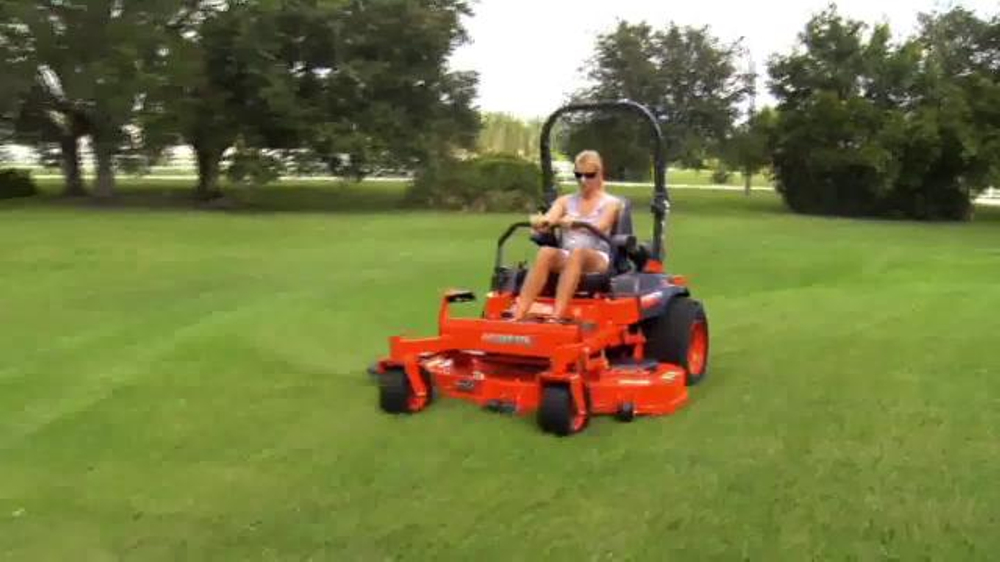 Kubota Get Set to Save Sales Event TV Commercial, 'Zero Turn Mowers'
