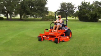 Kubota Get Set to Save Sales Event TV Spot, 'Zero Turn Mowers' - Thumbnail 1