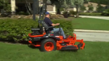 Kubota Get Set to Save Sales Event TV Spot, 'Zero Turn Mowers' - Thumbnail 2