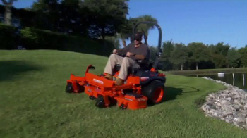Kubota Get Set to Save Sales Event TV Spot, 'Zero Turn Mowers' - Thumbnail 5