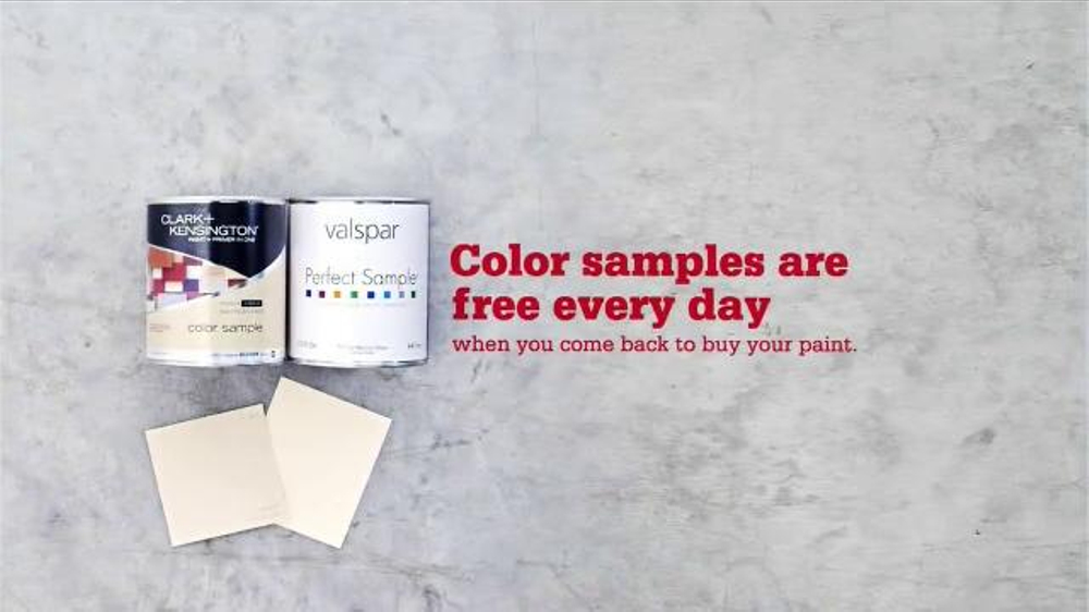 Ace Hardware Tv Commercial Everyday Color Samples