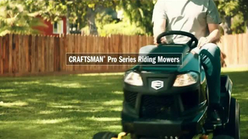 Craftsman Pro Series Riding Mower TV Spot, 'Beer' - Thumbnail 2