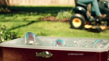 Craftsman Pro Series Riding Mower TV Spot, 'Beer' - Thumbnail 6