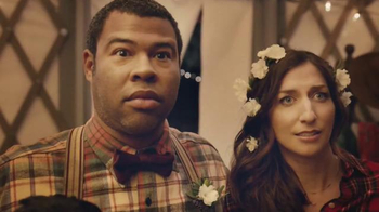 Booking.com TV Spot, 'Destination Wedding' Ft Jordan Peele, Chelsea Peretti - 2402 commercial airings
