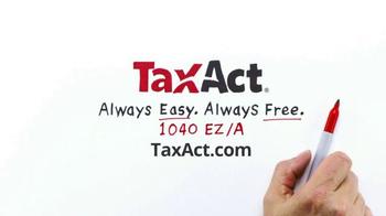 TaxACT TV Spot, '$0 Federal + $0 State + $0 E-file' - Thumbnail 9
