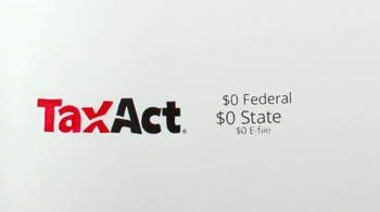 TaxACT TV Spot, '$0 Federal + $0 State + $0 E-file' - Thumbnail 5