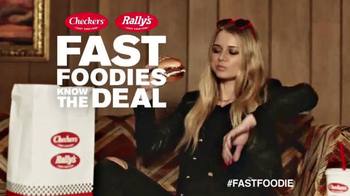 Checkers & Rally's Buttery Steak Burger TV Spot, 'High-Fashion Flavor' - Thumbnail 10