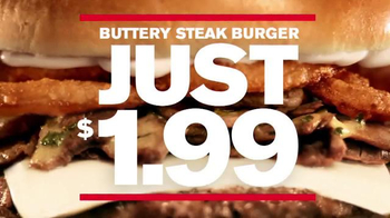 Checkers & Rally's Buttery Steak Burger TV Spot, 'High-Fashion Flavor' - Thumbnail 9