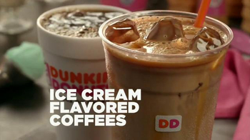 Dunkin' Donuts Ice Cream-Flavored Coffees TV Spot, 'More Fun in Your Day' - Thumbnail 9