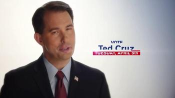 Cruz for President TV Spot, 'Governor Scott Walker' - Thumbnail 7