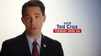 Cruz for President TV Spot, \'Governor Scott Walker\'