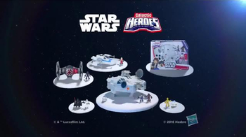 Star Wars Galactic Heroes Millennium Falcon TV Spot, 'Cave Monster' - Thumbnail 8