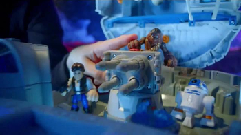 Star Wars Galactic Heroes Millennium Falcon TV Spot, 'Cave Monster' - Thumbnail 5