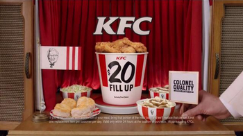 KFC $20 Fill Ups TV Spot, 'Fill Your Family Up' - Thumbnail 9