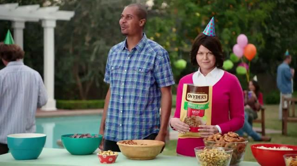 Snyders Of Hanover Tv Commercial Backyard Bbq Ispottv