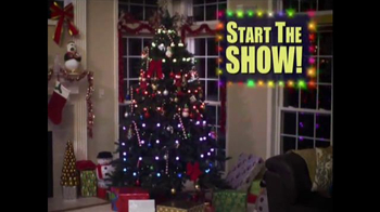 Tree Dazzler TV Spot, 'Holiday Light Show'