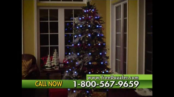 Tree Dazzler TV Spot, 'Holiday Light Show' - Thumbnail 8